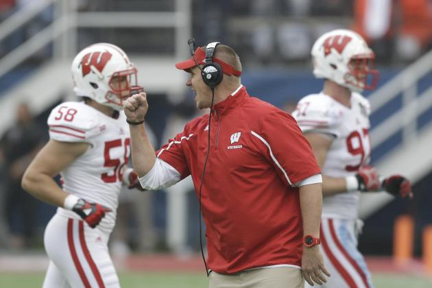Gary Andersen Finishing First Class at Wisconsin on High Note