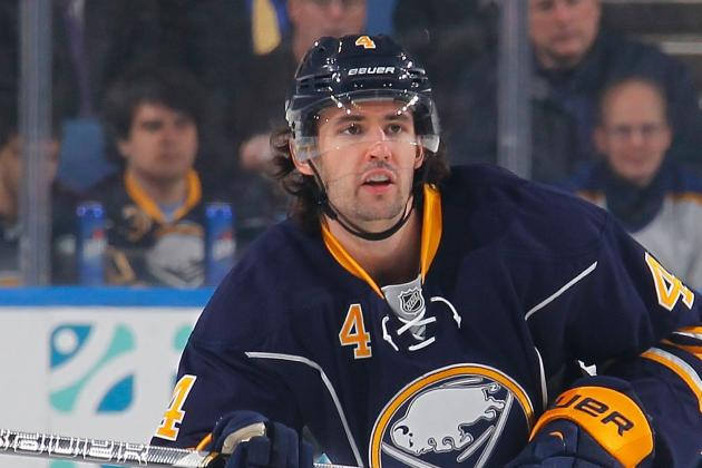 Sabres' Jamie McBain to Sit Against Capitals, Alexander Sulzer Back in