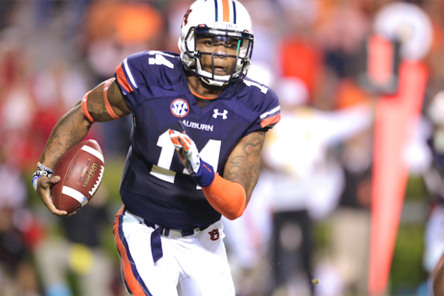Auburn QB Nick Marshall Not on Early Heisman Odds Board, but He Should Be