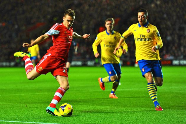 Southampton vs. Arsenal: Premier League Live Score, Highlights, Report