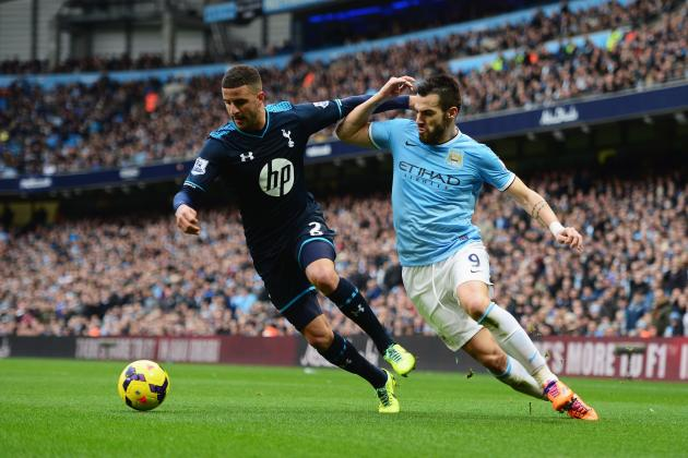 Tottenham vs. Manchester City: Date, Time, Live Stream, TV Info and Preview