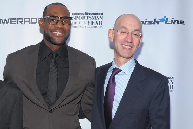 LeBron James Wants to Meet with New Commissioner Adam Silver to Improve NBA