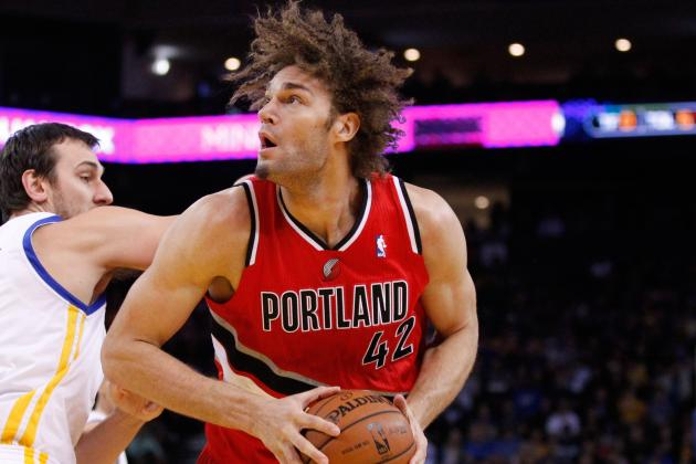 Robin Lopez Shows off His Custom Adidas Crazy 1s