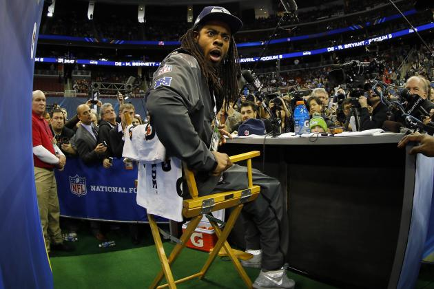 Super Bowl XLVIII Media Day Features Many Bizarre Questions