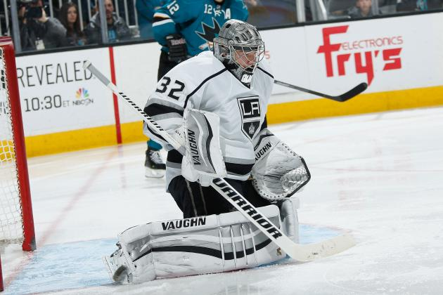 Kings Will Start Jonathan Quick in Goal at Close of 'Brutal' Trip