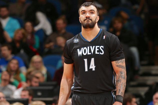 Nikola Pekovic Injury: Updates on Timberwolves Center's Ankle and Return