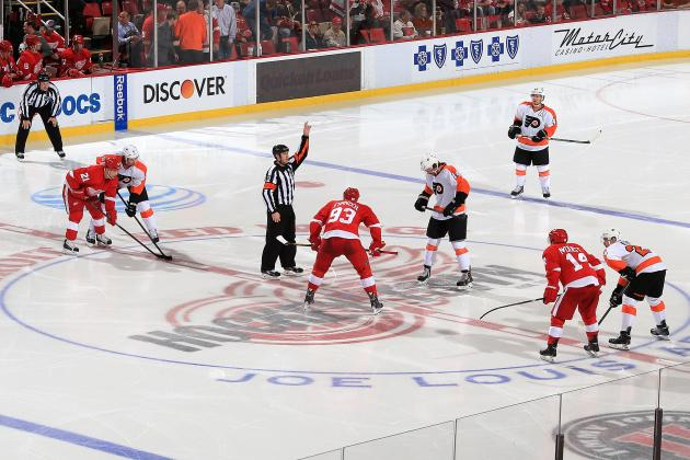 Philadelphia Flyers vs. Detroit Red Wings: Live Score, Highlights and Analysis