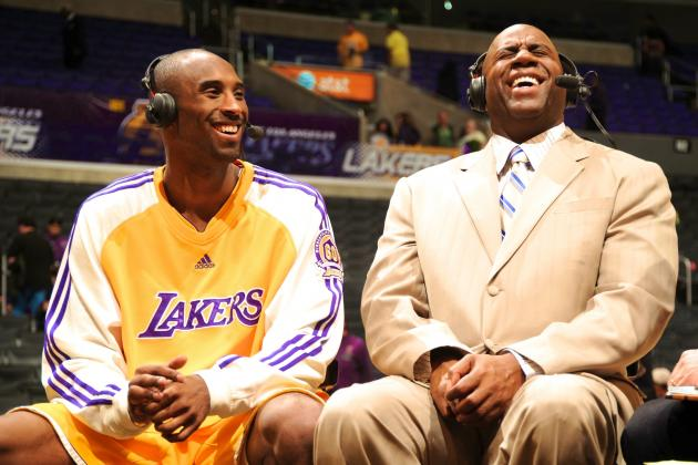 Magic Johnson Tweet Omits Kobe Bryant from His List of the 'Great Ones'