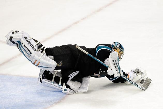 Sharks' Backup Goalie Alex Stalock Opening a Lot of Eyes