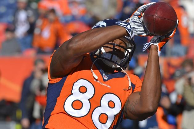 Denver Broncos: Why Demaryius Thomas Will Take over Super Bowl XLVIII