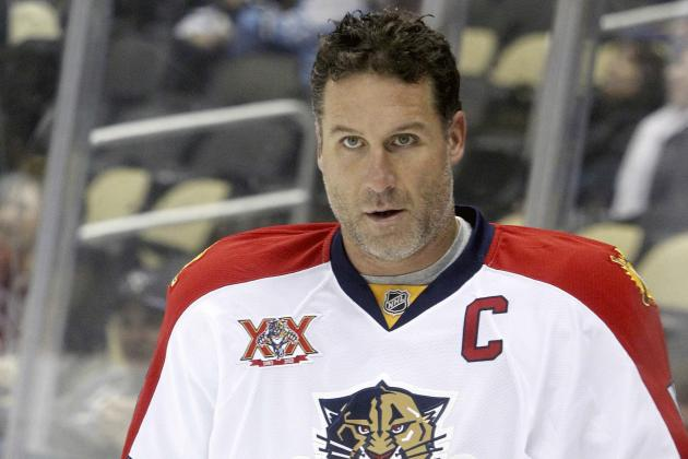 Panthers' Jovanovski Real Man of Steel