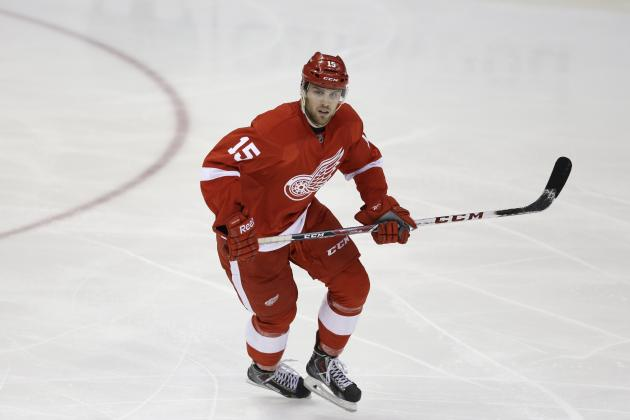 Detroit Red Wings Forward Riley Sheahan Living Up to Draft-Day Promises