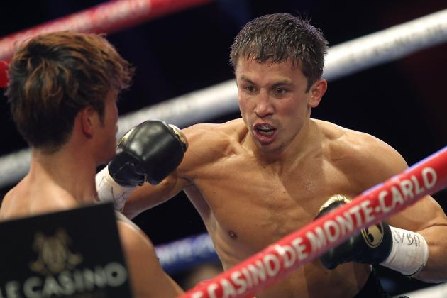 Gennady Golovkin vs. Osumanu Adama: Fight Time, Date, TV Info and More
