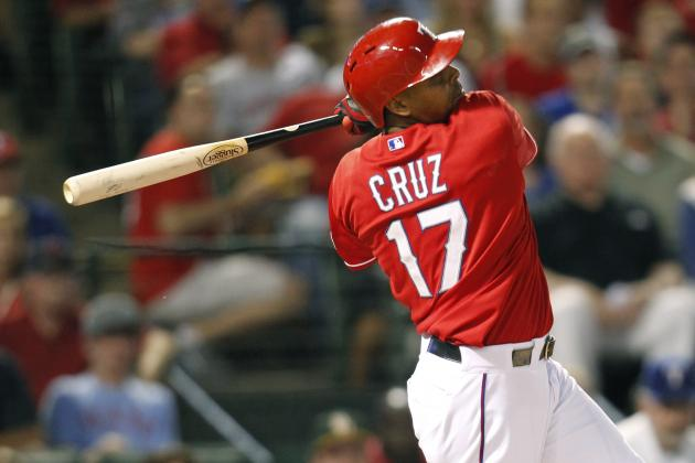Rangers Searching for Right-Handed Bat, Holding out for Nelson Cruz?
