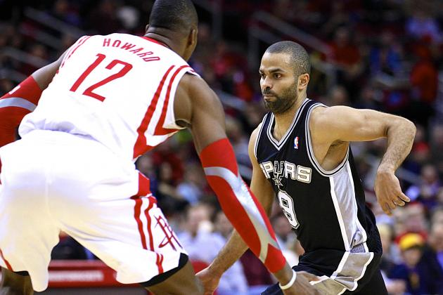 San Antonio Spurs vs. Houston Rockets: Live Score and Analysis