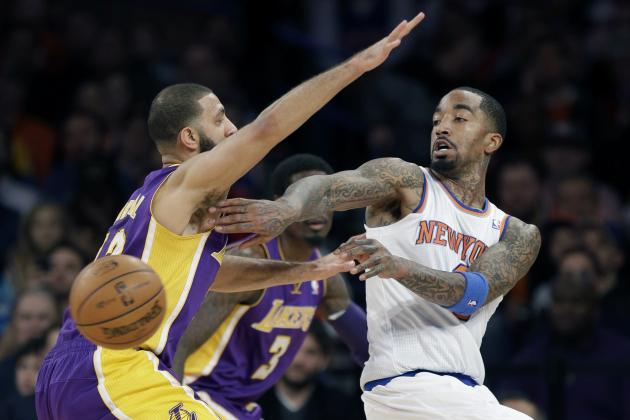 NY Knicks' Backcourt Is Team's X-Factor