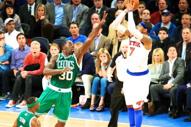 Boston Celtics vs. New York Knicks: Live Score and Analysis