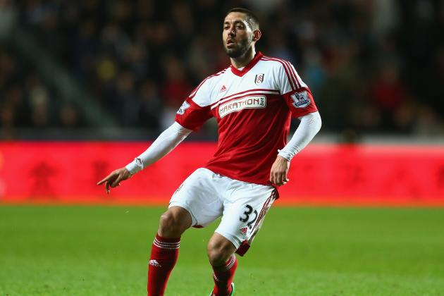 Clint Dempsey Is Barely Even a Noticable Figure at Fulham