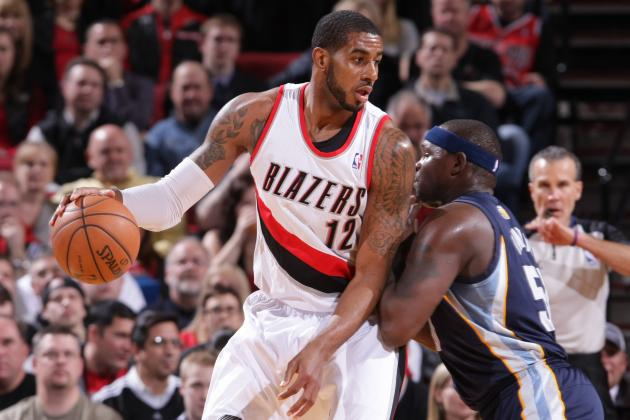 Aldridge Passes Cliff for 3rd on Blazers' All-Time Scoring List
