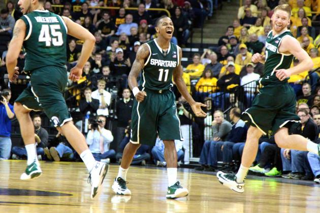 Shorthanded Michigan State Survives Iowa: How Good Will MSU Be When Healthy?