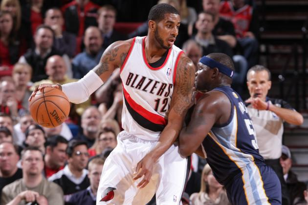 LA Moves to 3rd on Blazers' All-Time Scoring List