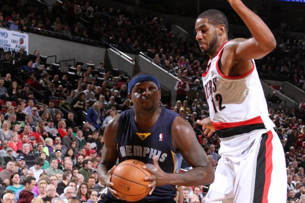Randolph, Grizzlies Cruise Past Blazers 98-81