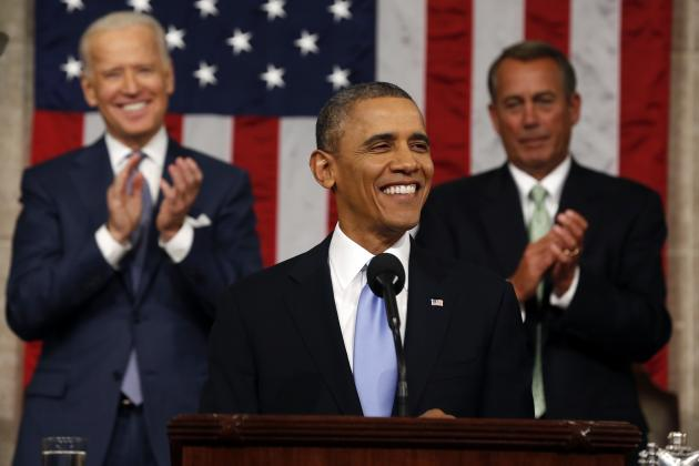 President Barack Obama Discusses U.S. Role in Sochi in State of Union Address