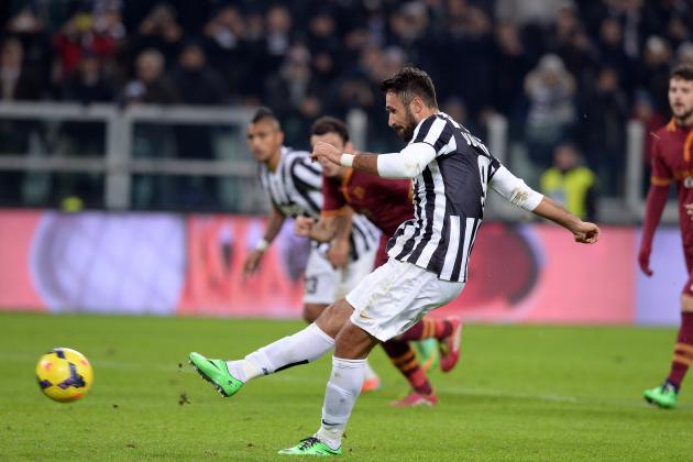 Arsenal Transfer News: Mirko Vucinic Training Alone Ahead of Juventus Exit