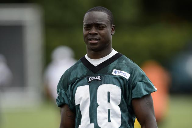 Video: Jeremy Maclin Running Sprints at Eagles Practice Facility