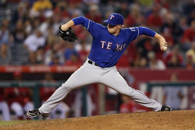 Robbie Ross' Failure to Crack Rangers' Rotation Could Land Him in the Minors