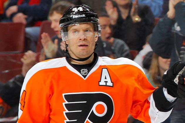 Kimmo Timonen Will Play Thursday Despite Injury Last Night