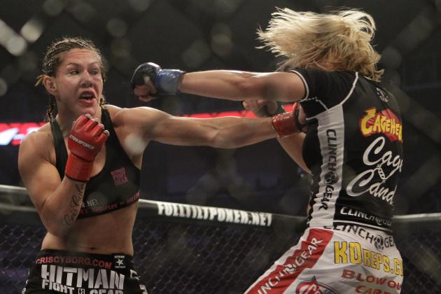 Co-Manager: 'Cyborg' vs. Ronda Rousey Could Happen in the Fall