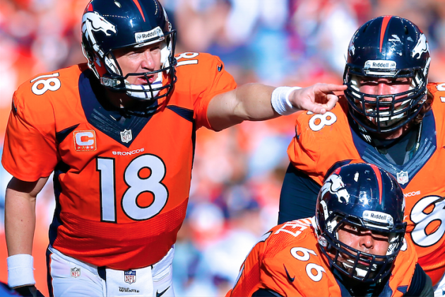 Beyond 'Omaha': Breaking Down Peyton Manning at the Line of Scrimmage