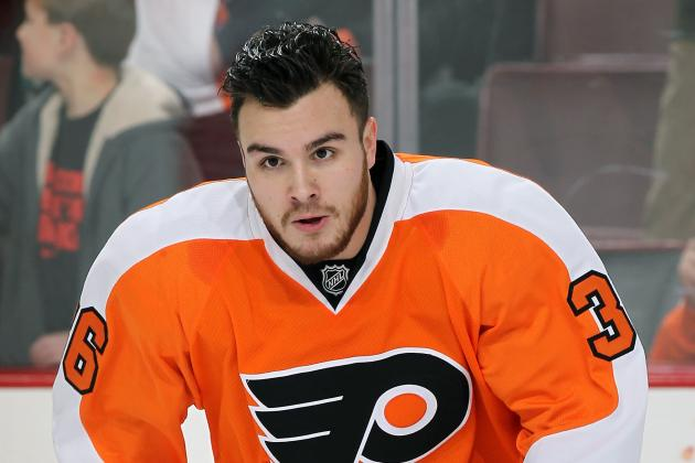 Flyers Waive Vande Velde, Rinaldo Ready to Return
