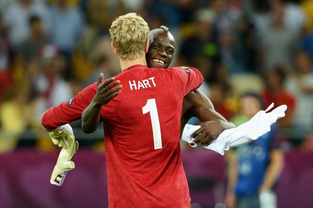 Mario Balotelli: Only Wayne Rooney and Joe Hart Could Make Italy's Squad
