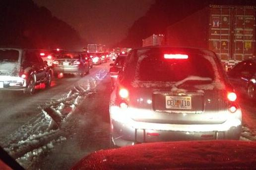 Ohio State Coach Tom Herman Spends Time in 19-Hour Snowstorm Traffic Tweeting