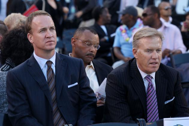 Elway: Super Bowl Win Won't Make Manning Greatest QB Ever