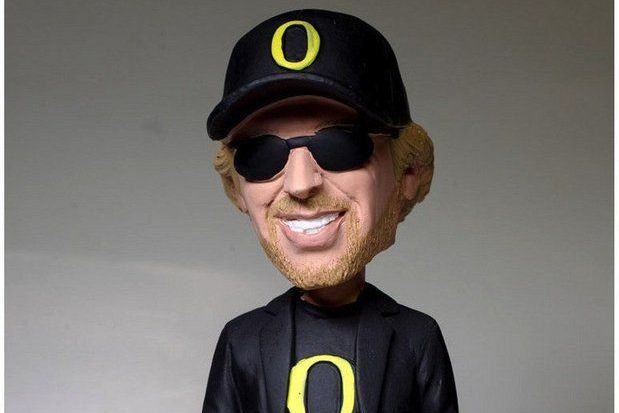 Oregon Ducks Prepare for Phil Knight Bobblehead Night