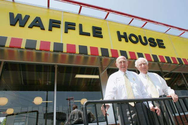 Bad Weather Forces Recruiters to Schedule In-Home Visits at Waffle House
