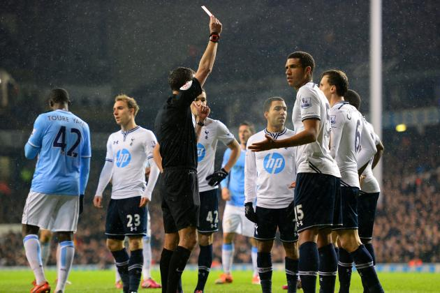 Danny Rose Red Card: How Tottenham Will Cope in Defender's Absence