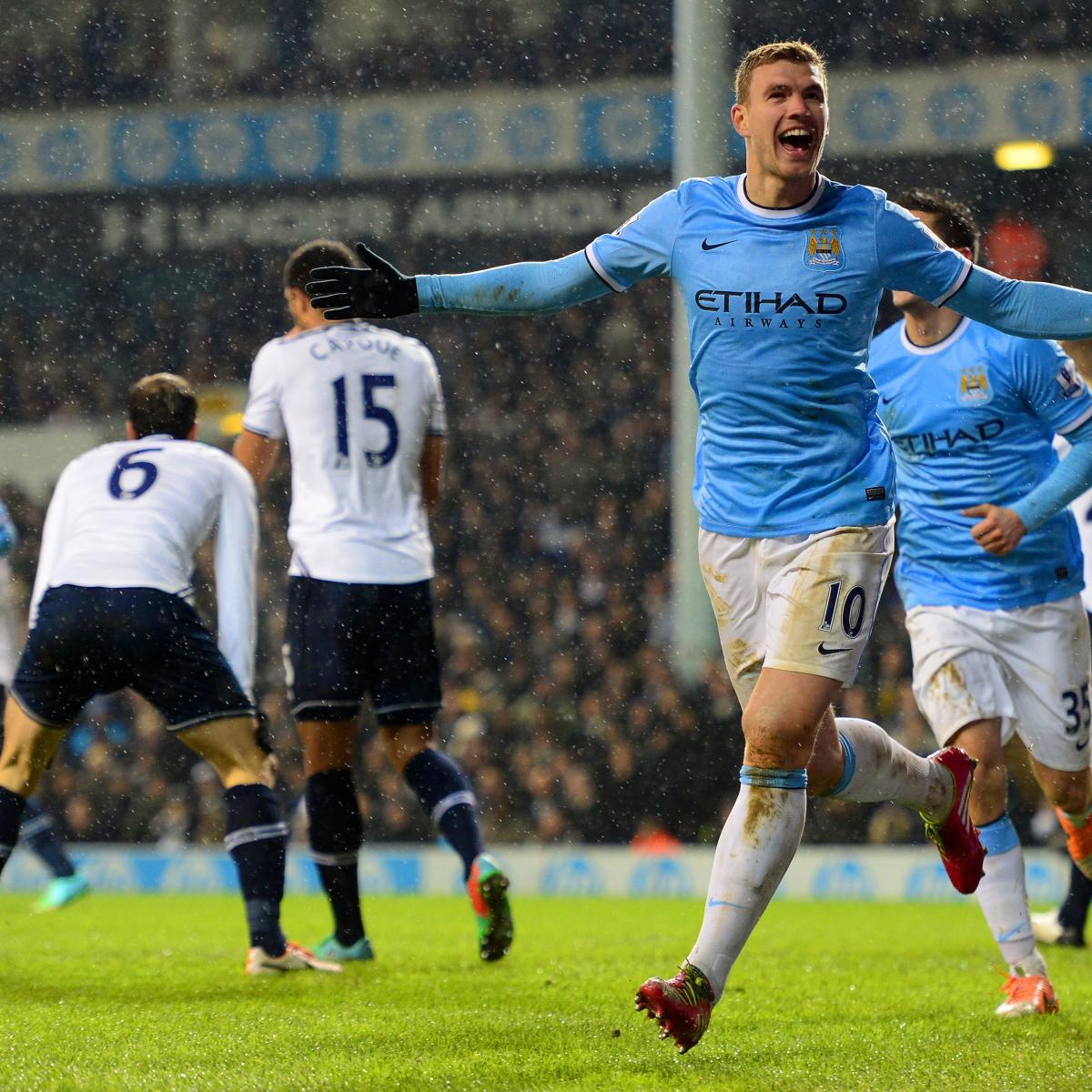 Tottenham Hotspur Vs Man United Tickets: Tottenham Hotspur Vs. Manchester City: Live Score