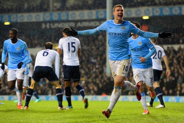 Tottenham Hotspur vs. Manchester City: Live Score, Highlights, Report
