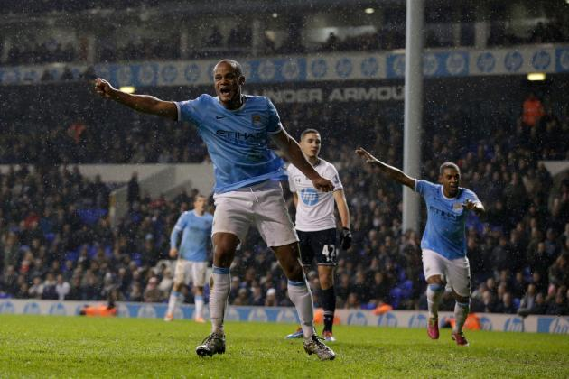 Tottenham Hotspur vs. Manchester City: Live Player Ratings for Both Teams