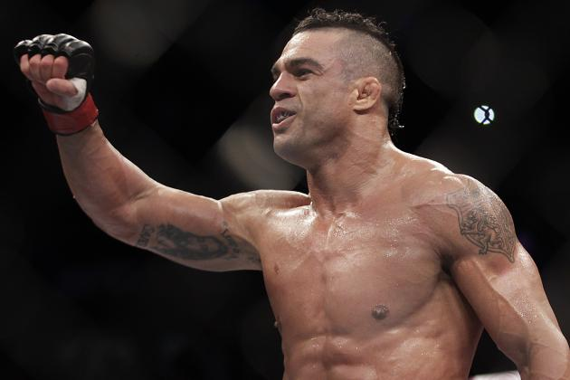 Vitor Belfort Posts Side-by-Side Images from Age 19 and Today