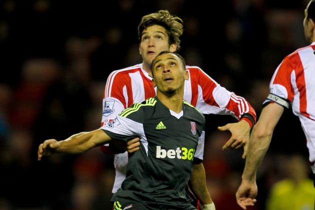 Adam Johnson Sinks 10-Man Stoke to Lift Sunderland out of Relegation Zone