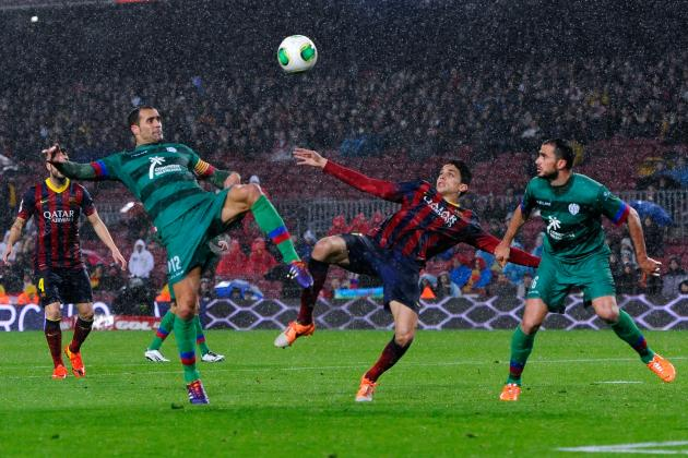 Barcelona vs. Levante: Copa Del Rey Live Score, Highlights, Report