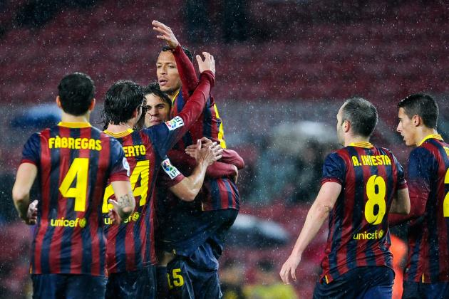 Barcelona vs. Levante: Live Player Ratings for Barcelona