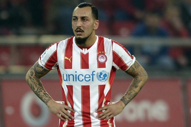 Fulham Agree Fee for Olympiakos Striker Kostas Mitroglou