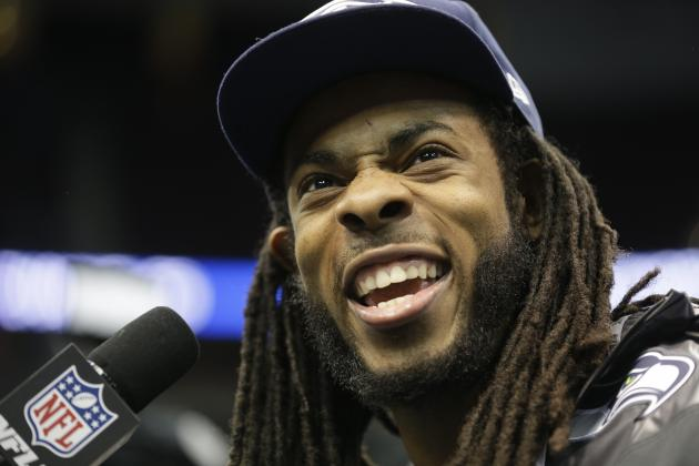 Richard Sherman Rant with Erin Andrews Leads to Unlikely Super Bowl Spotlight