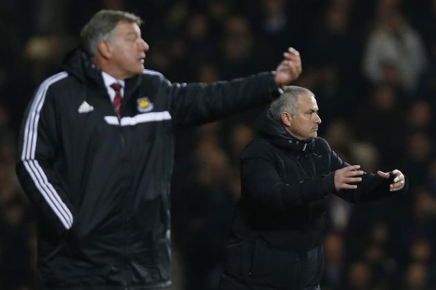 Jose Mourinho, Sam Allardyce Exchange Post-Match Jabs Through the Press